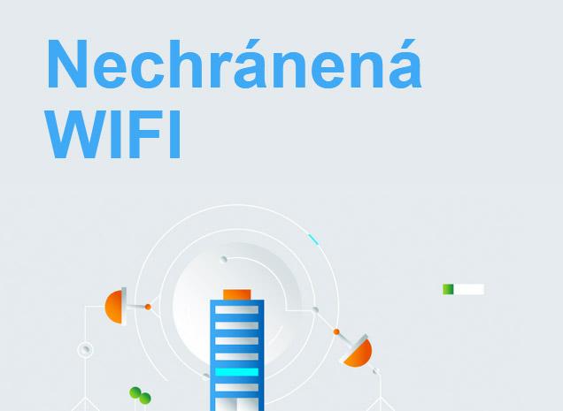 Nechránená WiFi